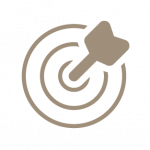 icon - arrow hitting bullseye